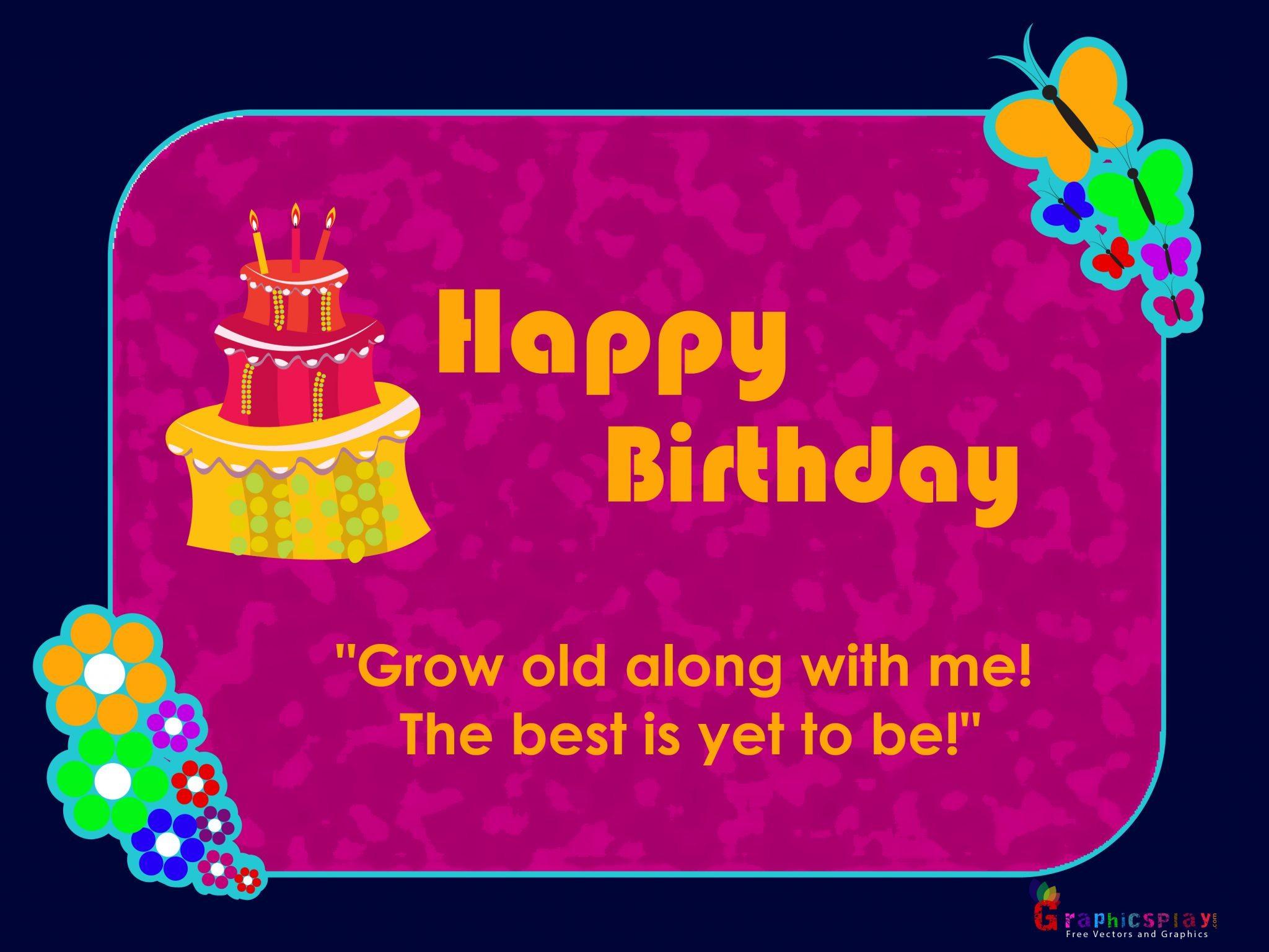 Happy Birthday Greeting 8