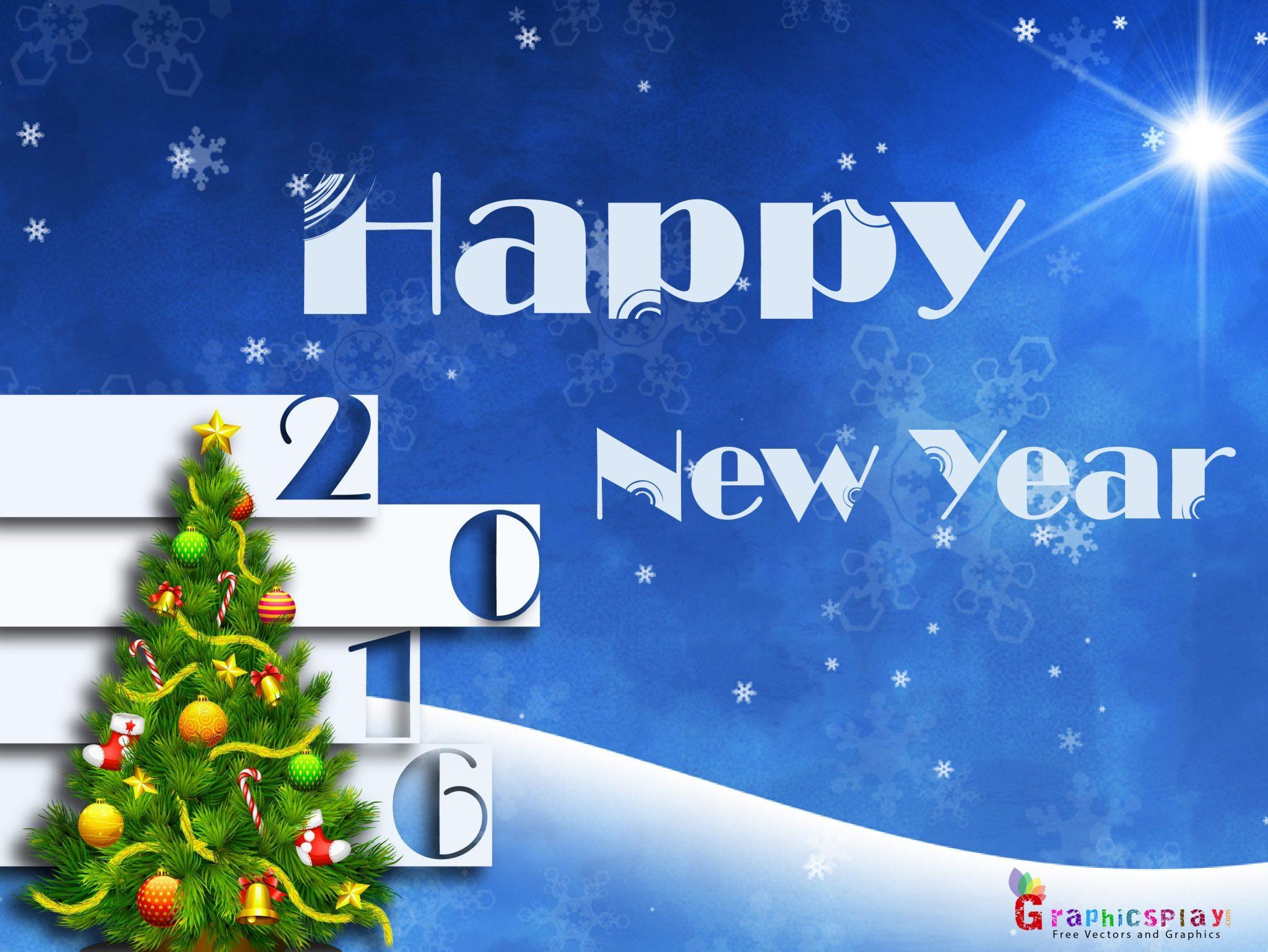 Happy New Year Greeting 2016 4