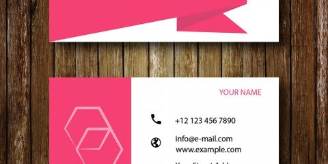 Business Card Design Vector Template - ID 1689 5