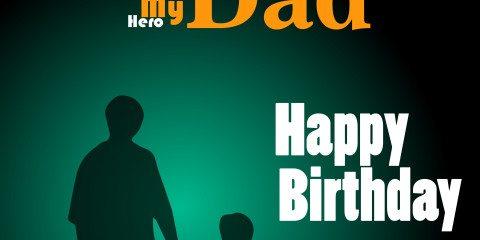 Happy Birthday Dad Greeting 7
