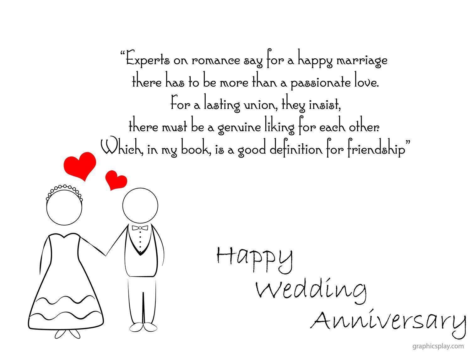 Year 3 Wedding Anniversary Gifts: Happy Wedding Anniversary Greeting With Quotes