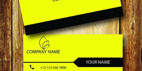 Business Card Design Vector Template - ID 1695 2