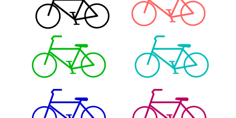 Simple Bicycle PNG and Vector 9