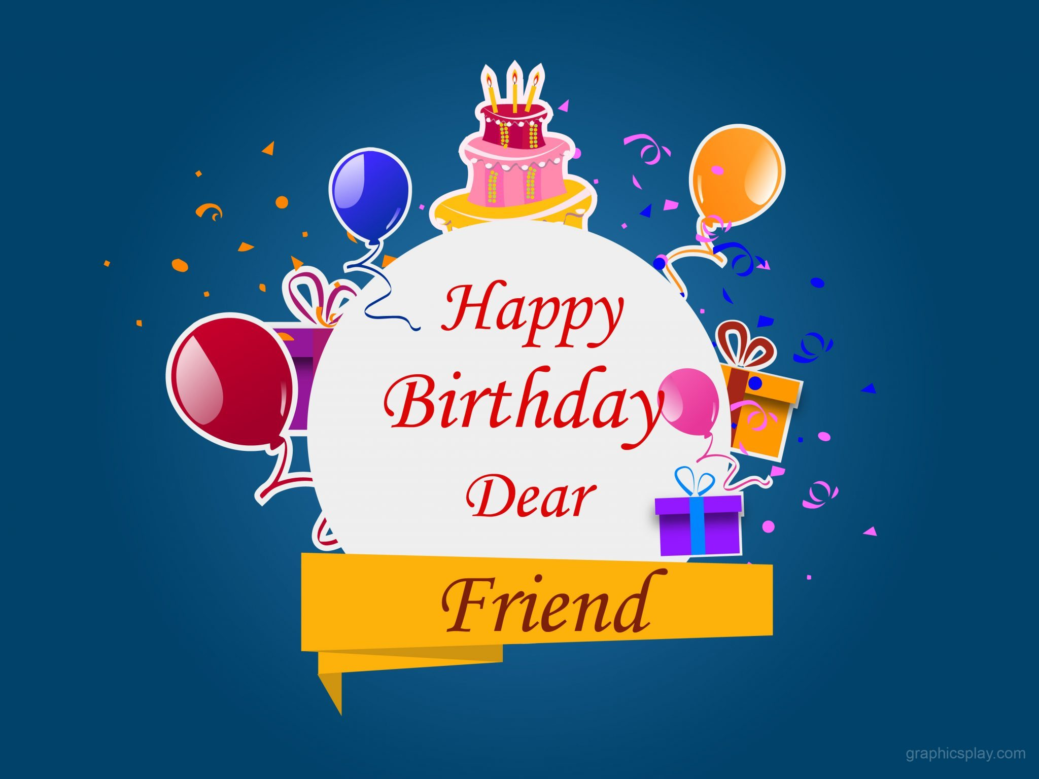 Birthdays are never complete until youve sent happy birthday wishes to a friend or to any other birthday gal or boy! These wishes will help your friends feel happy