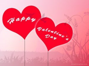 Happy Valentines Day Greeting With Love 2