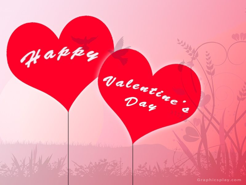 happy valentines day greeting with love - Valentines Greeting