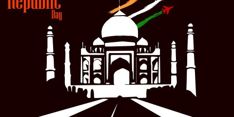 Beautiful Happy Republic Day Indian Greeting 5