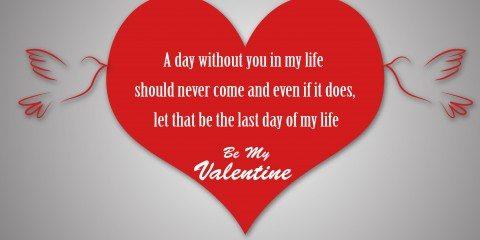 Happy Valentine's Day Greeting -2208 8