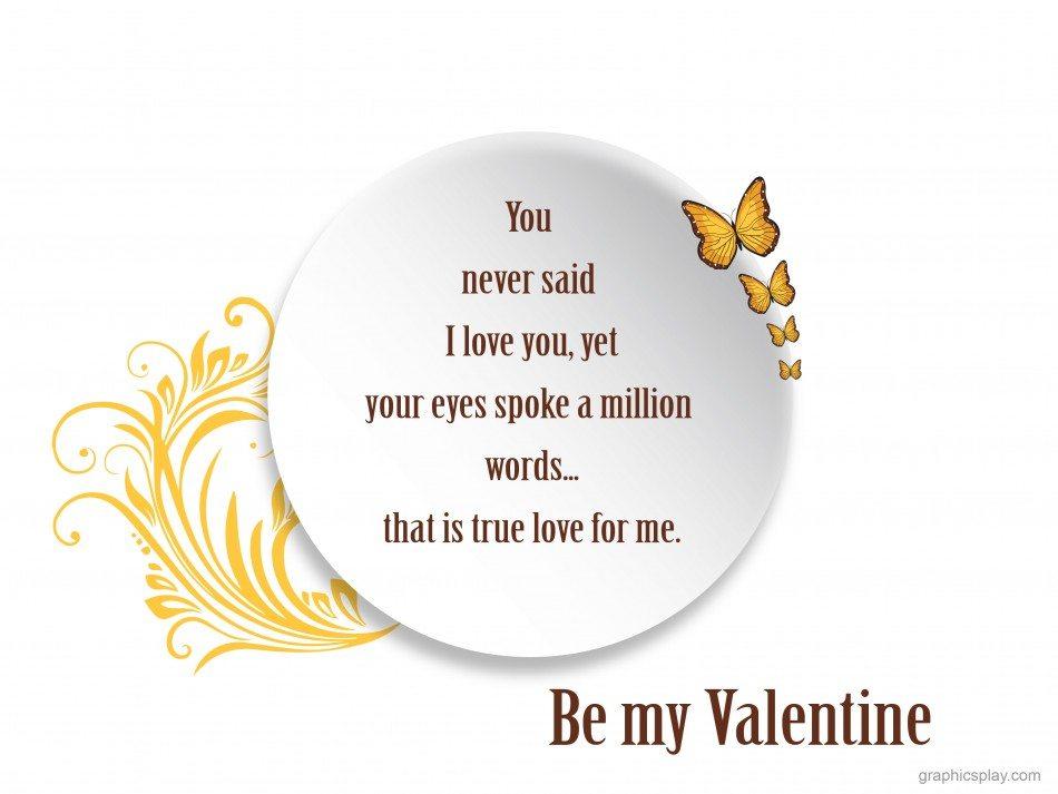 Happy Valentine's Day Greeting -2167 1