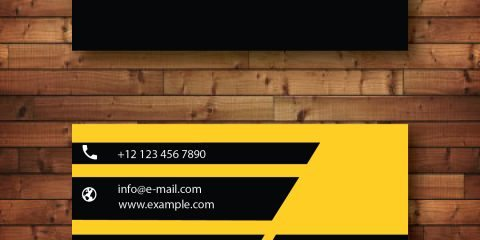 Business Card Design Vector Template - ID 4144 11